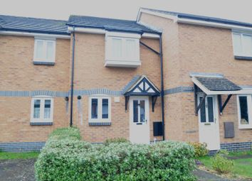 Thumbnail 2 bed terraced house to rent in Haining Gardens, Mytchett, Camberley