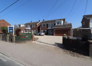 Thumbnail 4 bed detached house for sale in Station Road, Thorrington, Colchester