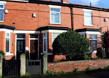 Thumbnail 2 bed terraced house for sale in Firwood Avenue, Urmston, Manchester
