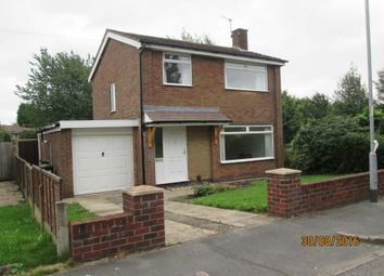 Thumbnail 3 bed detached house to rent in Falmer Close, Abbey Hey, Manchester