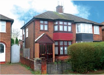 Thumbnail 3 bed semi-detached house for sale in Booth Road, Colindale, London