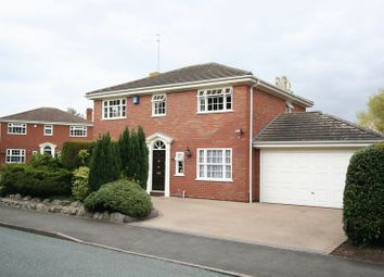 Thumbnail 4 bedroom detached house for sale in Church Road, Swindon, Dudley