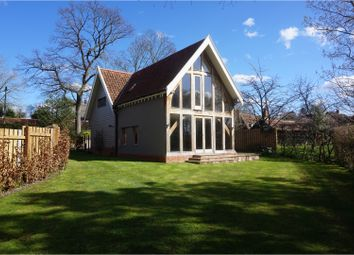 Thumbnail 3 bedroom detached house for sale in The Street, Easton, Woodbridge