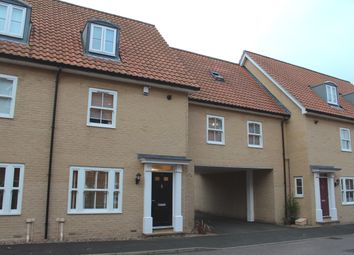 Thumbnail 4 bedroom town house to rent in Abbots Gate, Bury St. Edmunds