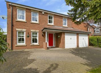 Thumbnail 5 bed detached house for sale in Park Drive, Sprotborough, Doncaster