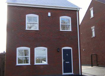 Thumbnail 3 bed detached house to rent in Church Lane, Tibshelf, Alfreton