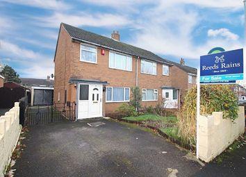 Thumbnail 3 bed semi-detached house for sale in Dorset Close, Bucknall, Stoke-On-Trent