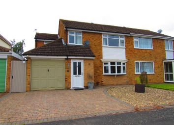 Thumbnail 3 bed semi-detached house for sale in Torrington Close, Wigston