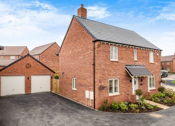 Thumbnail 4 bed detached house for sale in Blakenhall Drive, Lutterworth