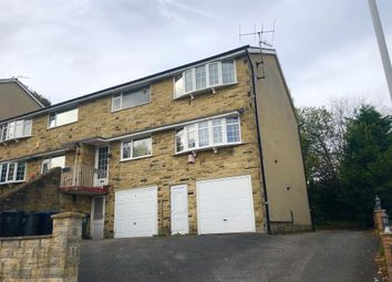 Thumbnail 2 bed flat for sale in Aireville Rise, Frizinghall, Bradford