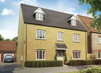 "Thumbnail 5 bed detached house for sale in ""Newbury "" at Whitelands Way, Bicester"