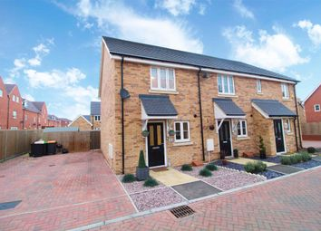 Thumbnail 2 bed end terrace house for sale in Rope Leys, New Cardington
