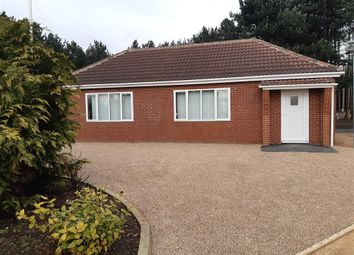 Thumbnail 3 bed detached bungalow to rent in Thorne Road, Austerfield, Doncaster