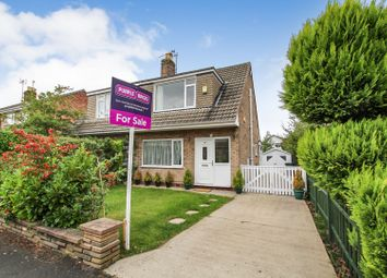 Thumbnail 3 bed semi-detached house for sale in Linton Crescent, Leeds