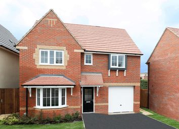 "Thumbnail 4 bed detached house for sale in ""Somerton"" at Stanley Close, Corby"