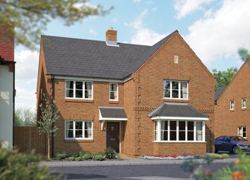 "Thumbnail 5 bed detached house for sale in ""The Arundel"" at Brook Street, Aston Clinton, Aylesbury"
