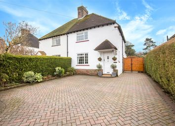 Thumbnail 3 bed semi-detached house for sale in Stoneleigh Road, Oxted, Surrey