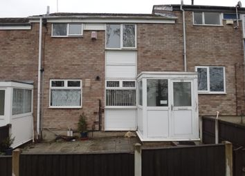 Thumbnail 3 bed terraced house for sale in Rowlatts Hill Road, Off Wicklow Drive, Leicester