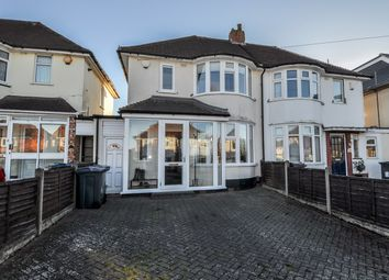 Thumbnail 2 bedroom semi-detached house for sale in Woolacombe Lodge Road, Selly Oak, Birmingham
