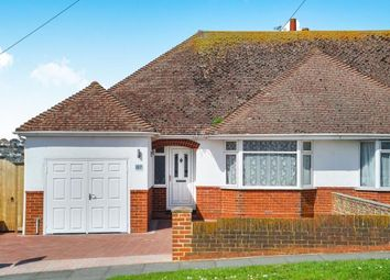 Thumbnail 2 bed bungalow for sale in Longridge Avenue, Saltdean, Brighton, East Sussex