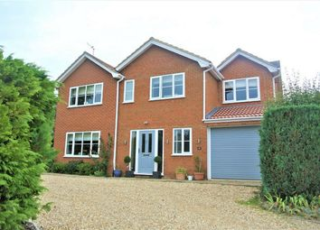 Thumbnail 5 bed detached house for sale in Haconby Lane, Morton, Bourne, Lincolnshire