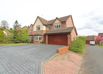 Thumbnail 4 bed detached house for sale in Hellier Drive, Wombourne, Wolverhampton