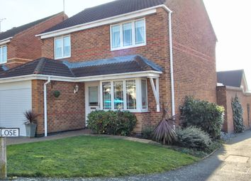 Thumbnail 3 bed detached house for sale in Tristram Close, Leicester Forest East, Leicester