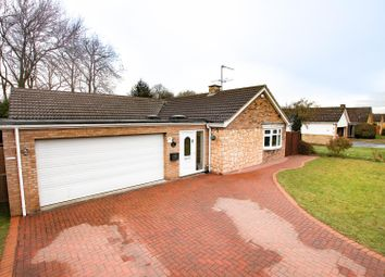 Thumbnail 3 bed detached bungalow for sale in Holme Drive, Sudbrooke, Lincoln