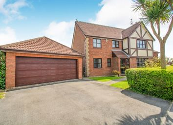 Thumbnail 5 bedroom detached house for sale in Maes Cadwgan, Creigiau, Cardiff