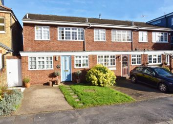 Thumbnail 3 bed end terrace house for sale in Sunnyside Road, Teddington