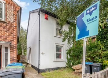 Thumbnail 2 bed semi-detached house for sale in Hawks Road, Norbiton, Kingston Upon Thames