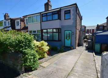 Thumbnail 2 bed semi-detached house for sale in Russell Street, Prestwich, Manchester