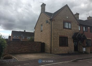 Thumbnail 3 bed end terrace house to rent in Lunchfield Lane, Moulton, Northampton