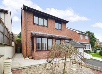 Thumbnail 3 bed link-detached house for sale in Greenwood Park Close, Plymouth, Devon
