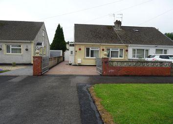 Thumbnail 2 bed semi-detached bungalow for sale in Ton Teg, Pencoed, Bridgend
