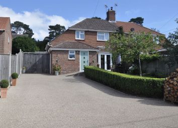 3 bed semi-detached house for sale in Woolsbridge Road, St. Leonards, Ringwood BH24