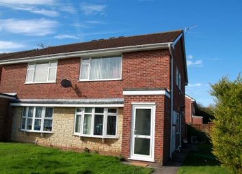 Thumbnail 1 bed flat for sale in Trenleigh Drive, Worle, Weston-Super-Mare
