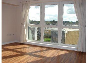 Thumbnail 1 bed flat to rent in Fisgard Court, Admirals Way, Gravesend