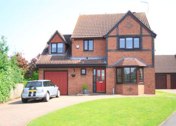 Thumbnail 4 bed detached house for sale in Westmoreland Close, Westwoodside, Doncaster