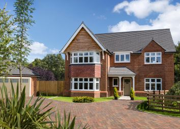 Thumbnail 4 bedroom detached house for sale in Abbeyfields, Middlewich Road, Sandbach