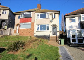 Thumbnail 3 bed semi-detached house for sale in Carlton Road, Northumberland Heath, Kent