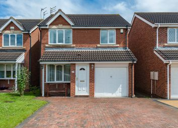 Thumbnail 3 bed detached house for sale in Ashwood Close, Cramlington, Northumberland