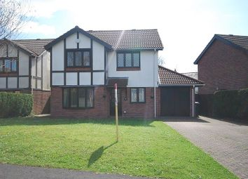 Thumbnail 4 bed detached house to rent in Ruskin Avenue, Rogerstone, Newport