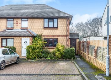 Thumbnail 2 bed end terrace house for sale in Byron Court, Penarth