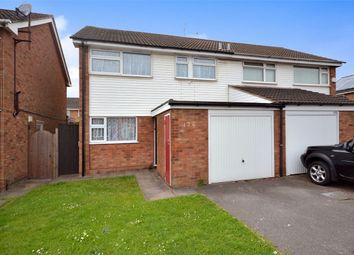Thumbnail 3 bed semi-detached house for sale in Silverdale Close, Aldermans Green, Coventry, West Midlands