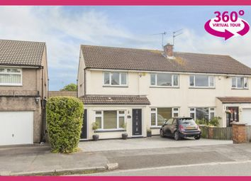 Thumbnail 3 bed semi-detached house for sale in Wavell Drive, Newport