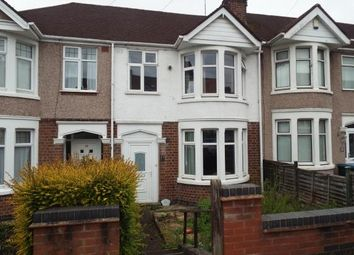 Thumbnail 3 bed terraced house for sale in Chelveston Road, Coventry, West Midlands