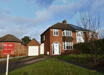 3 bed semi-detached house for sale in Merevale Road, Solihull B92