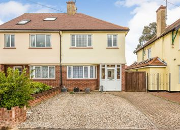 Thumbnail 3 bed semi-detached house for sale in Midhurst Avenue, Westcliff-On-Sea