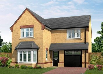 "Thumbnail 4 bed detached house for sale in ""The Settle V1"" at Shireoaks Common, Shireoaks, Worksop"